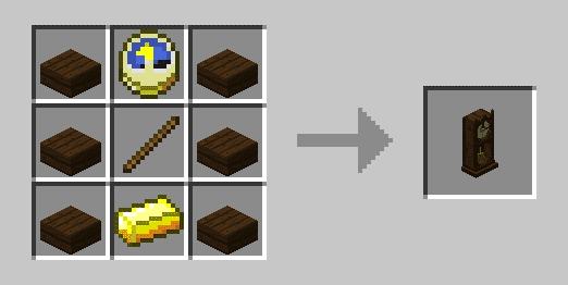 Bibliocraft - Clock - Craft