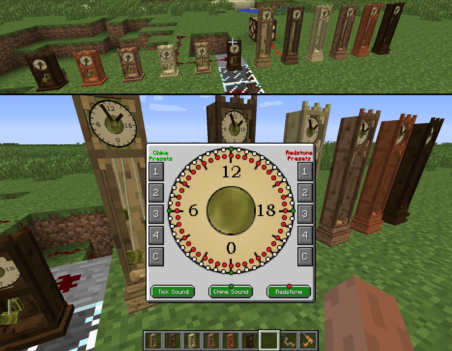 Bibliocraft - Clock - GUI
