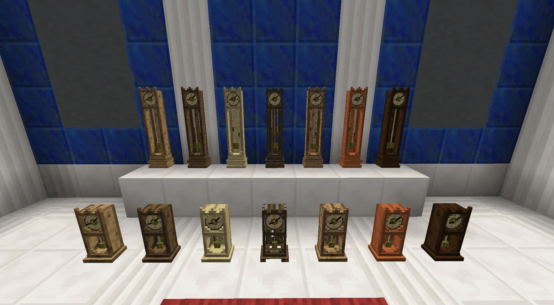 Bibliocraft - Clock