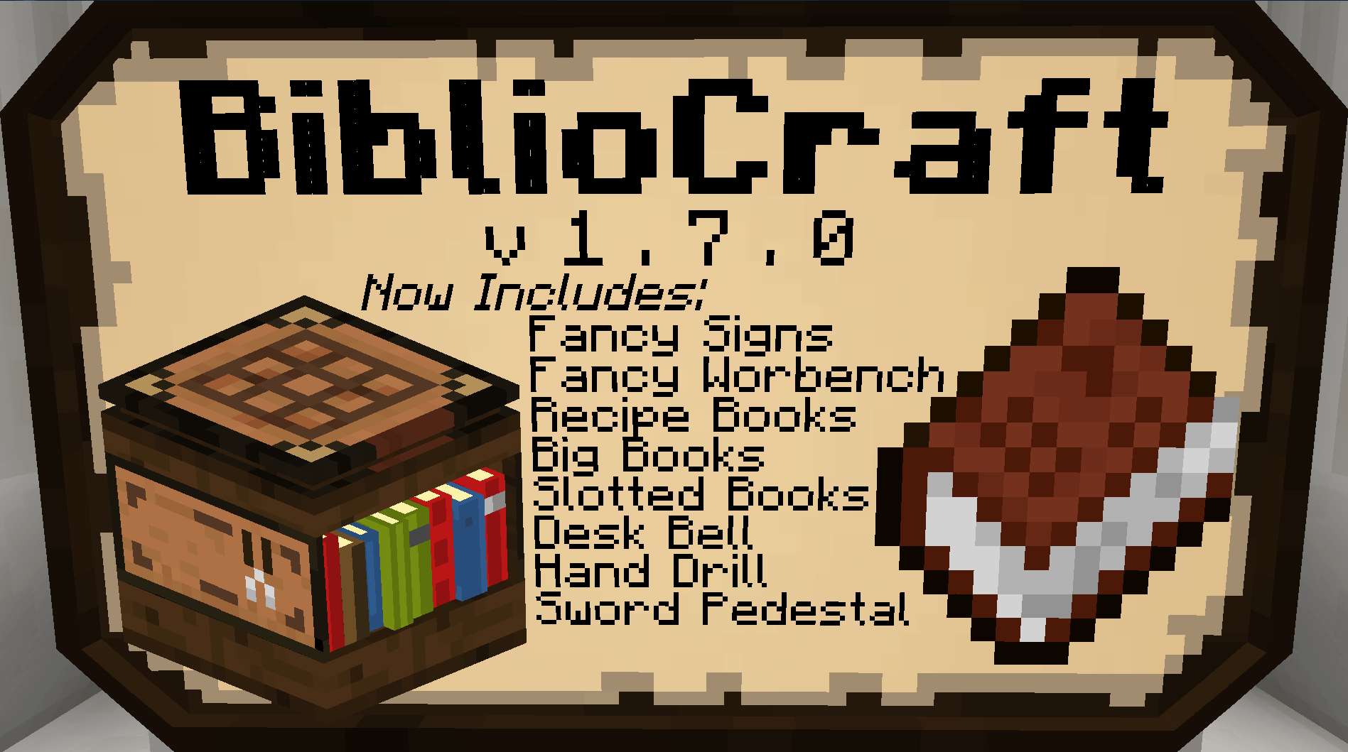 Bibliocraft - Fancy Sign