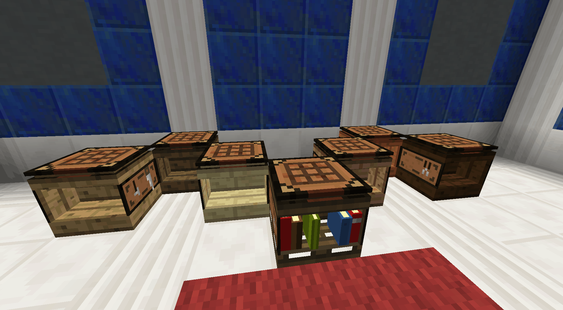 Bibliocraft - Fancy Workbench