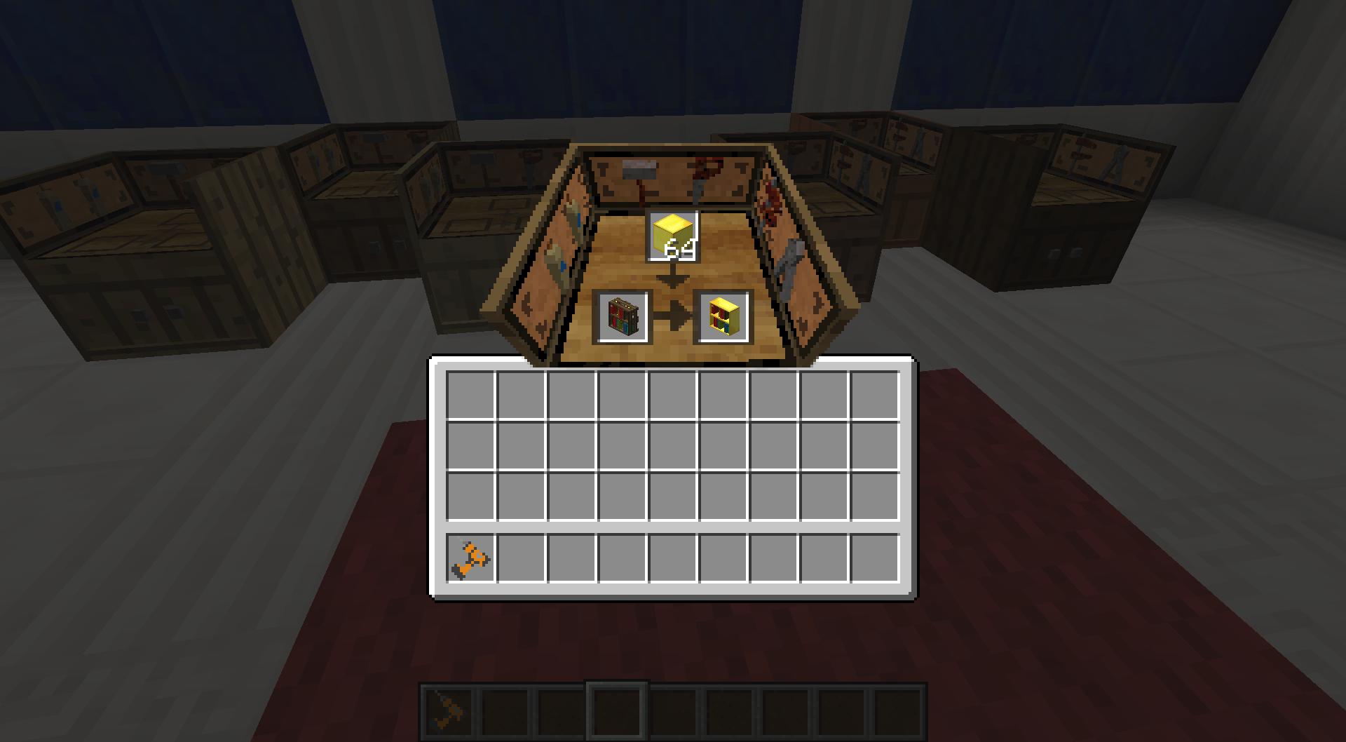 Bibliocraft - Paneler - GUI