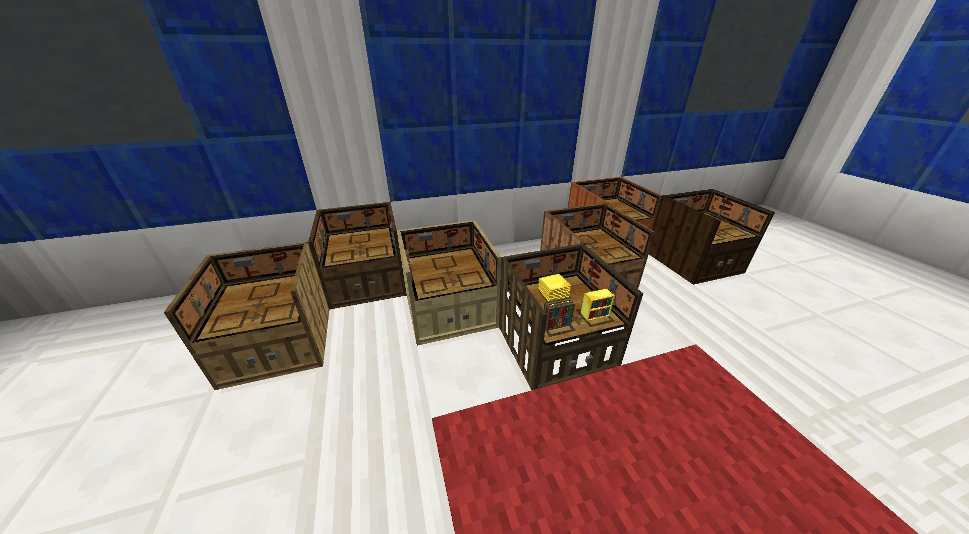 Bibliocraft - Paneler