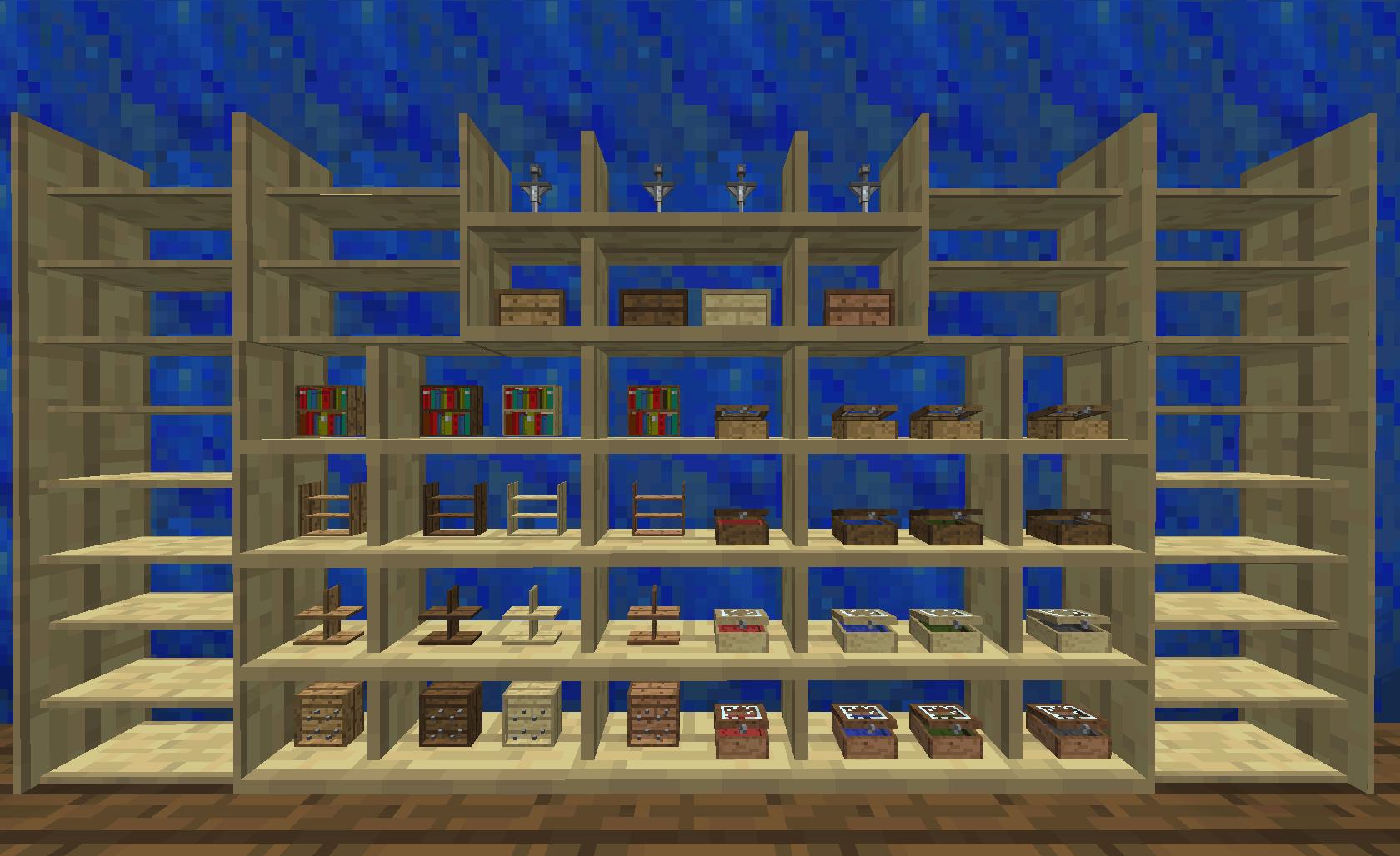 Bibliocraft - Shelf