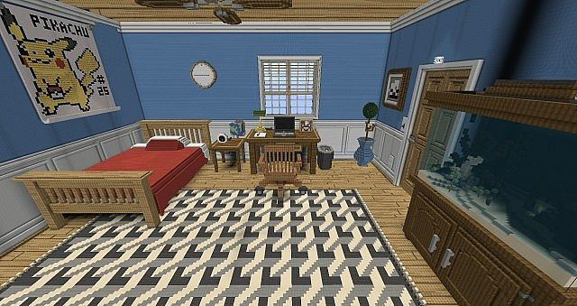 maps top 4 maisons de g ants 1 x minecraft france. Black Bedroom Furniture Sets. Home Design Ideas