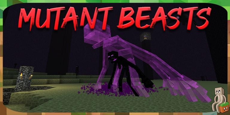 Mod : Mutant Beasts [1.12.2 - 1.15.2]