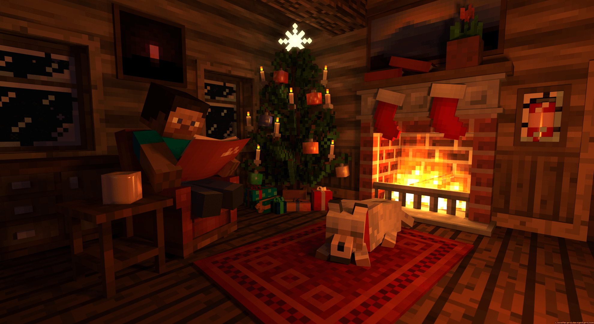 steve_s_christmas_cabin_by_lockrikard-d6xwejr