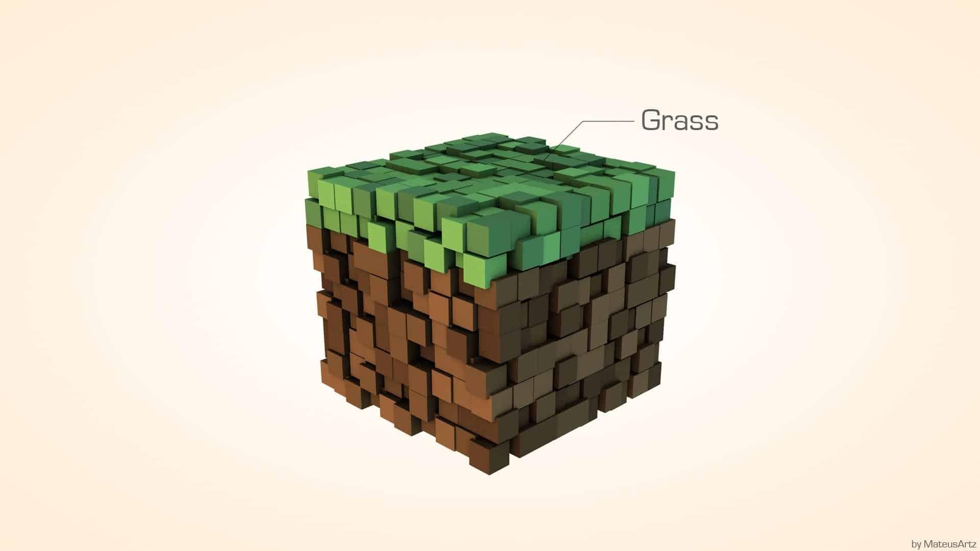minecraft_minimalist___grass_by_mateusrm94-d4hlh2x