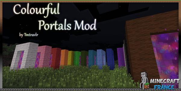 Photo of [Mod] Colourful Portals [1.7.10]
