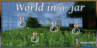 World in a jar