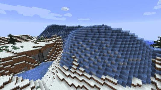 Biome O' Plenty - Montagnes de glaces