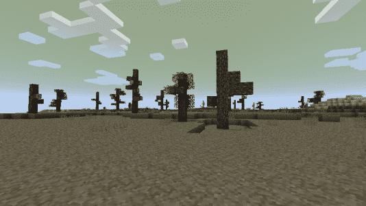 Biome O' Plenty - Un biome avec des arbres morts