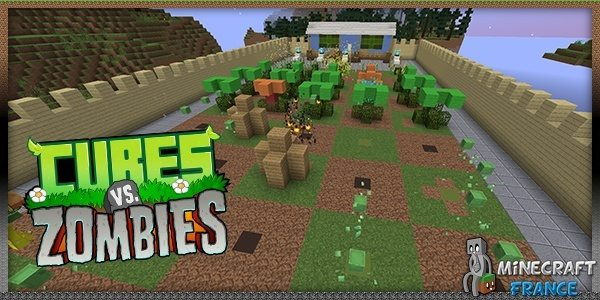 Photo of [Map] Cubes vs Zombies [1.8]