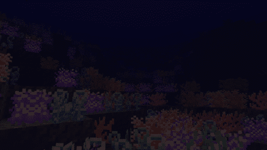 Biome O' Plenty - des fonds sous marin