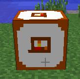 Cube maison de bois