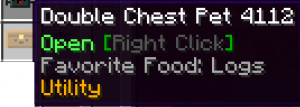 Double Chest Pet