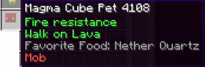 MagmaCube Pet