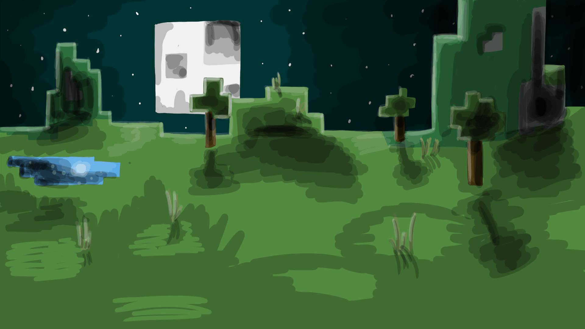 minecraft_landscape_by_kalistik_cheryzia-d4seu00