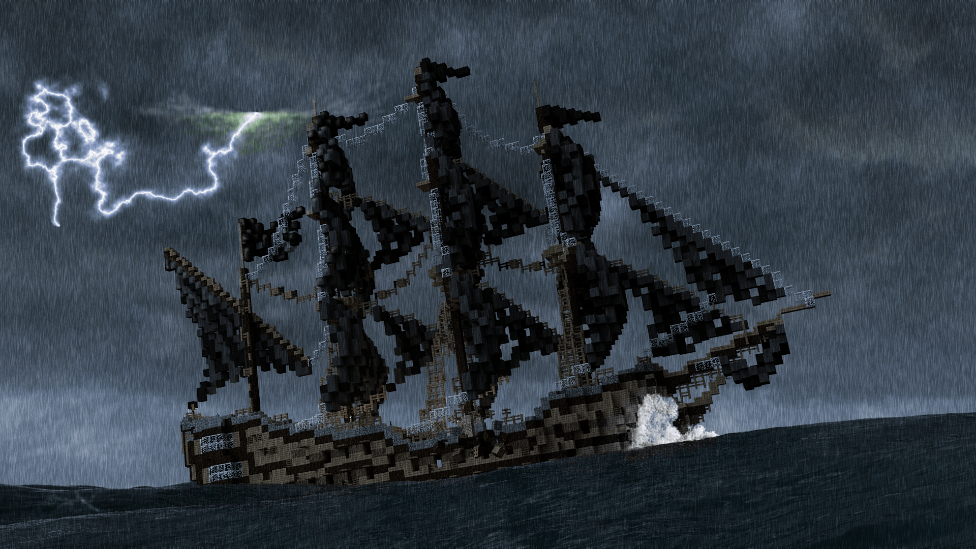 minecraft-ocean-storm-game-hd-wallpaper-1920x1080-20361