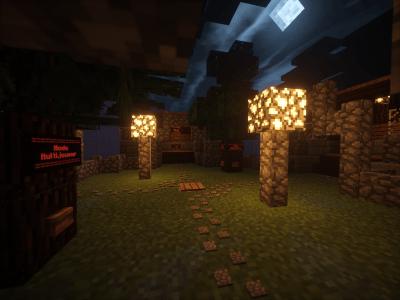 Slender in minecraft