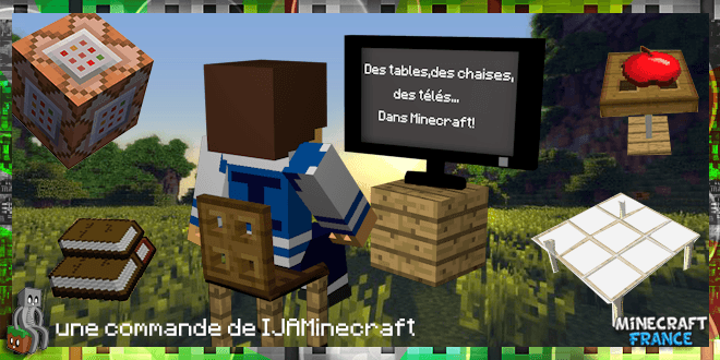 Photo of [No Mod] Furnitures [1.8+]