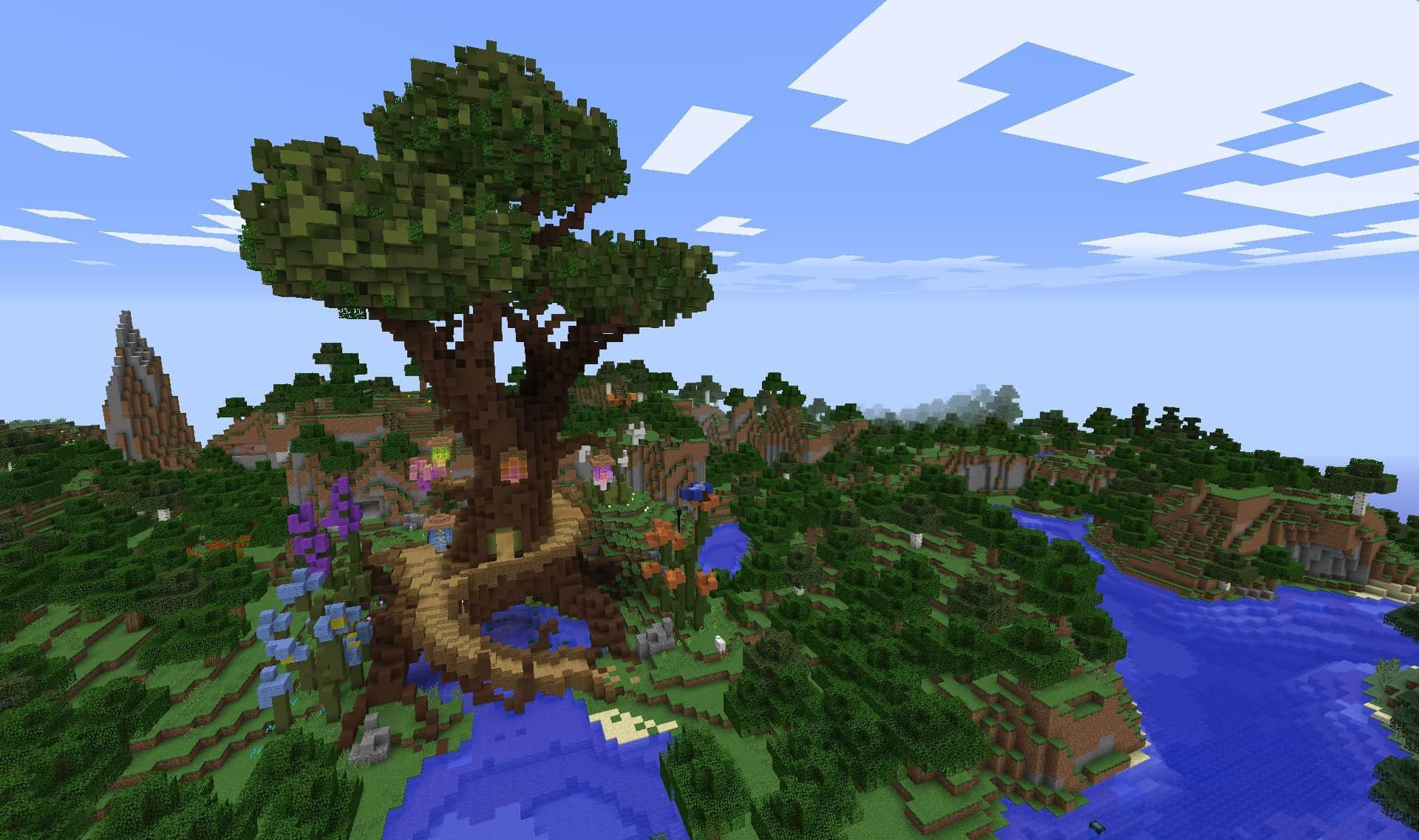 Minecraft Tour Elfique Defi Build