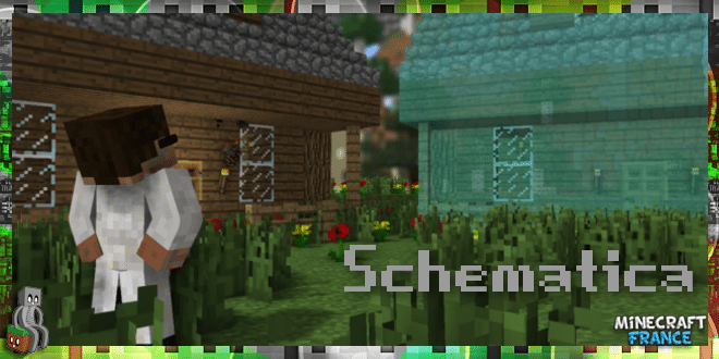Mod Schematica 1710 111 Minecraft France