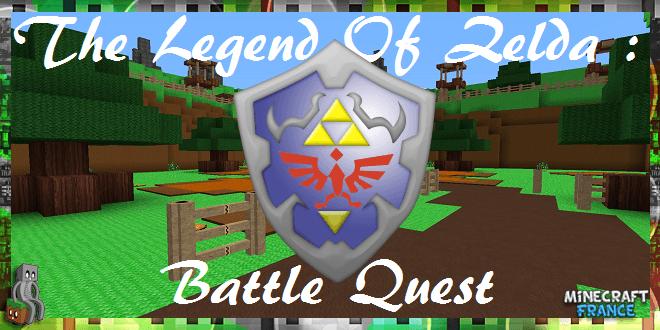 Map The Legend Of Zelda Battle Quest 1.8