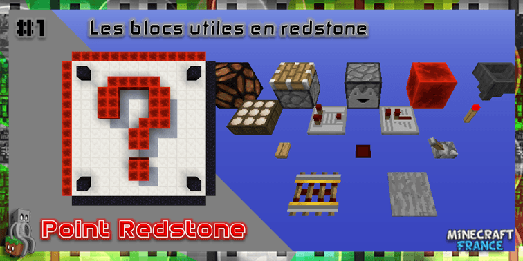 Photo of [PointRedstone] #1 – Les blocs utiles en redstone
