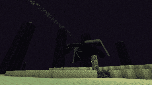L'ender Dragon de Minecraft