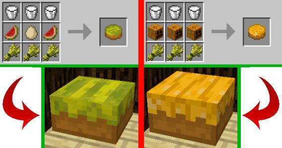 Cake pastèque et citrouille