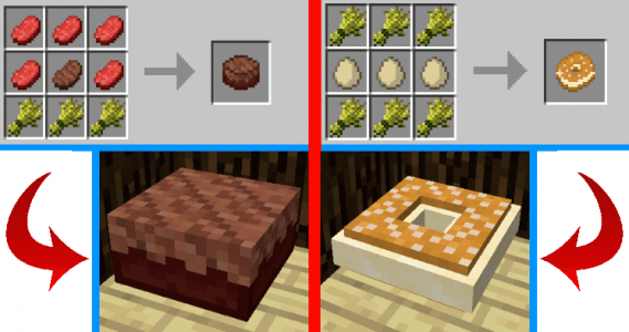 Cake viande et paris brest
