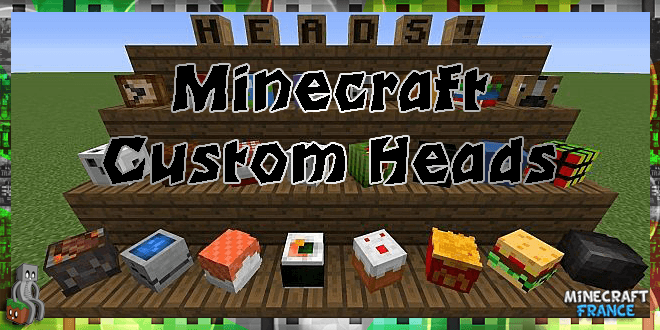 Minecraft Custom Heads 1.8