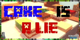 image une cake is a lie