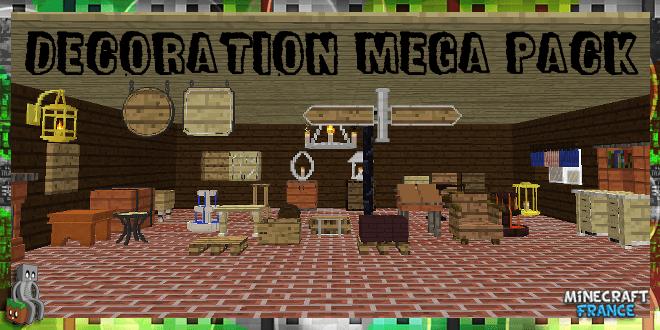 Decoration Mega Pack Mod 1 8