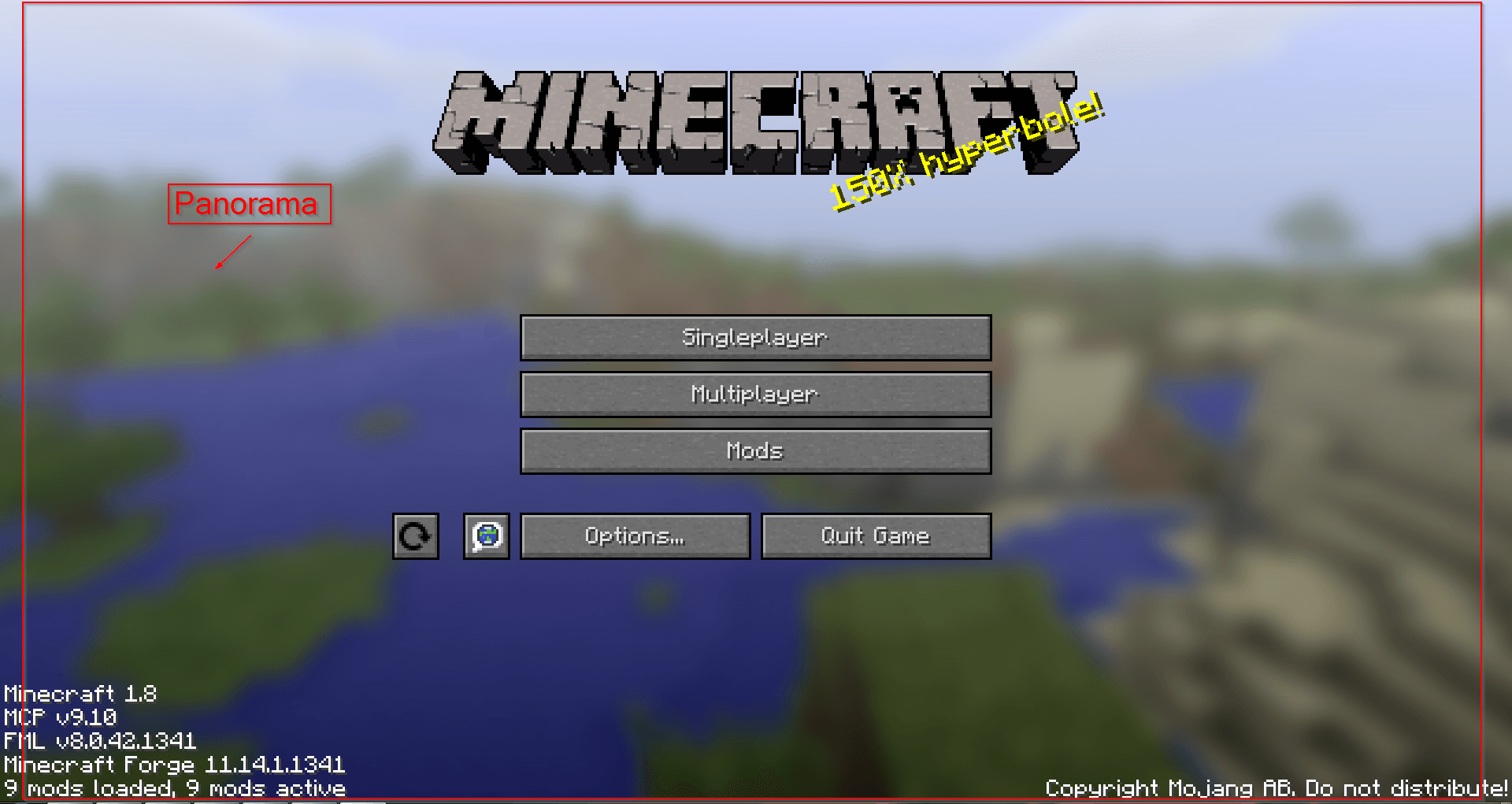 Custom Main Menu - cveonfR