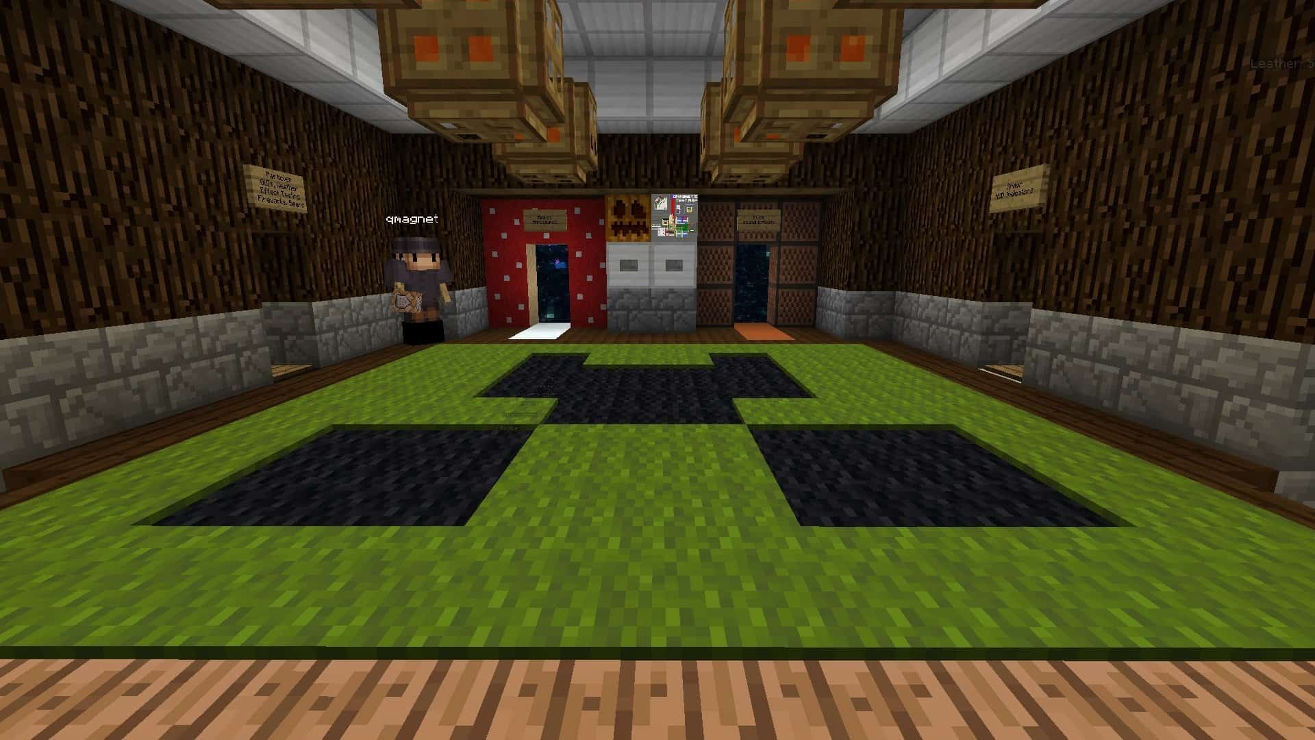 hall de Test Map sans resource pack
