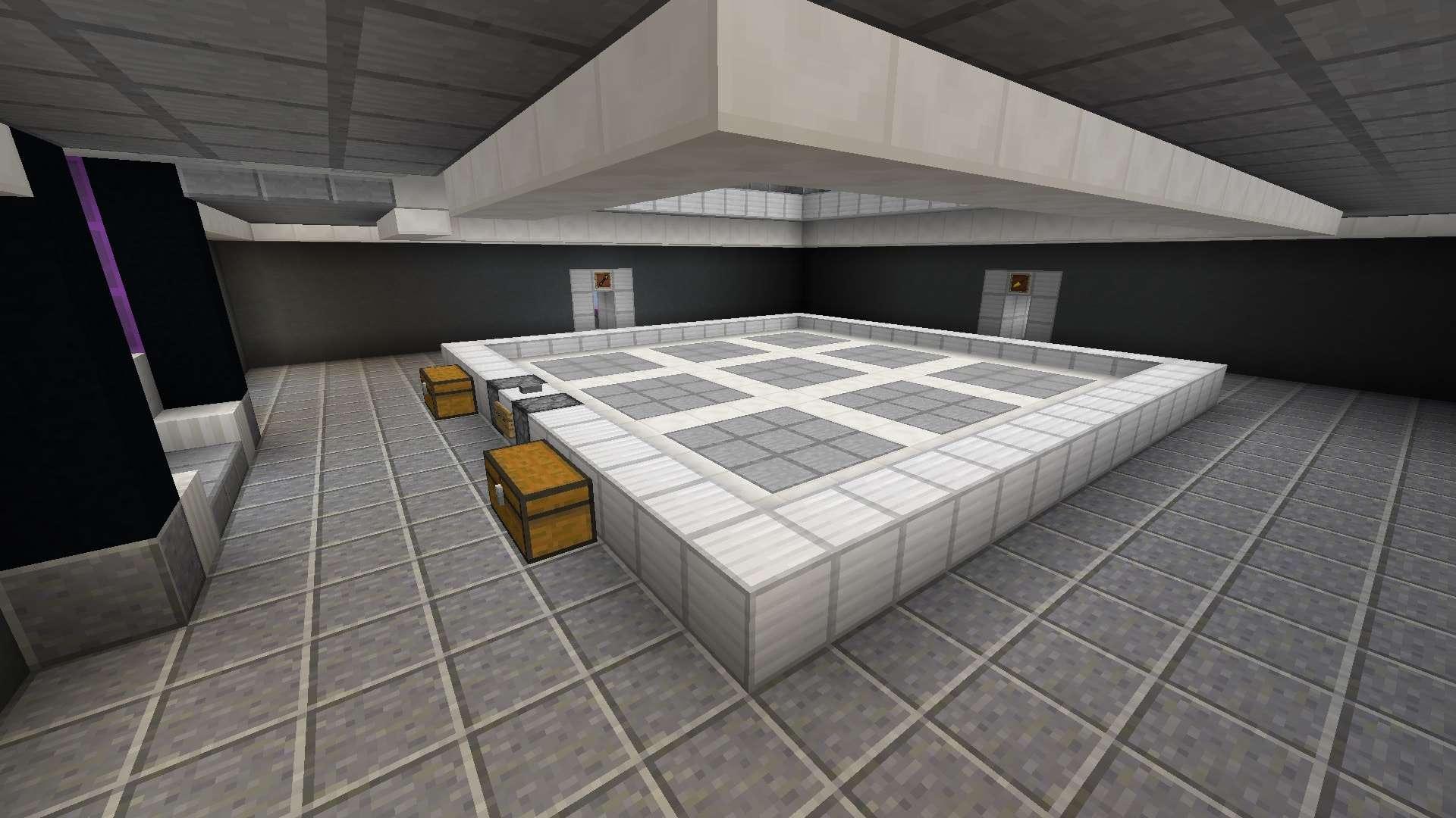 salle d'expérience de la Test Map