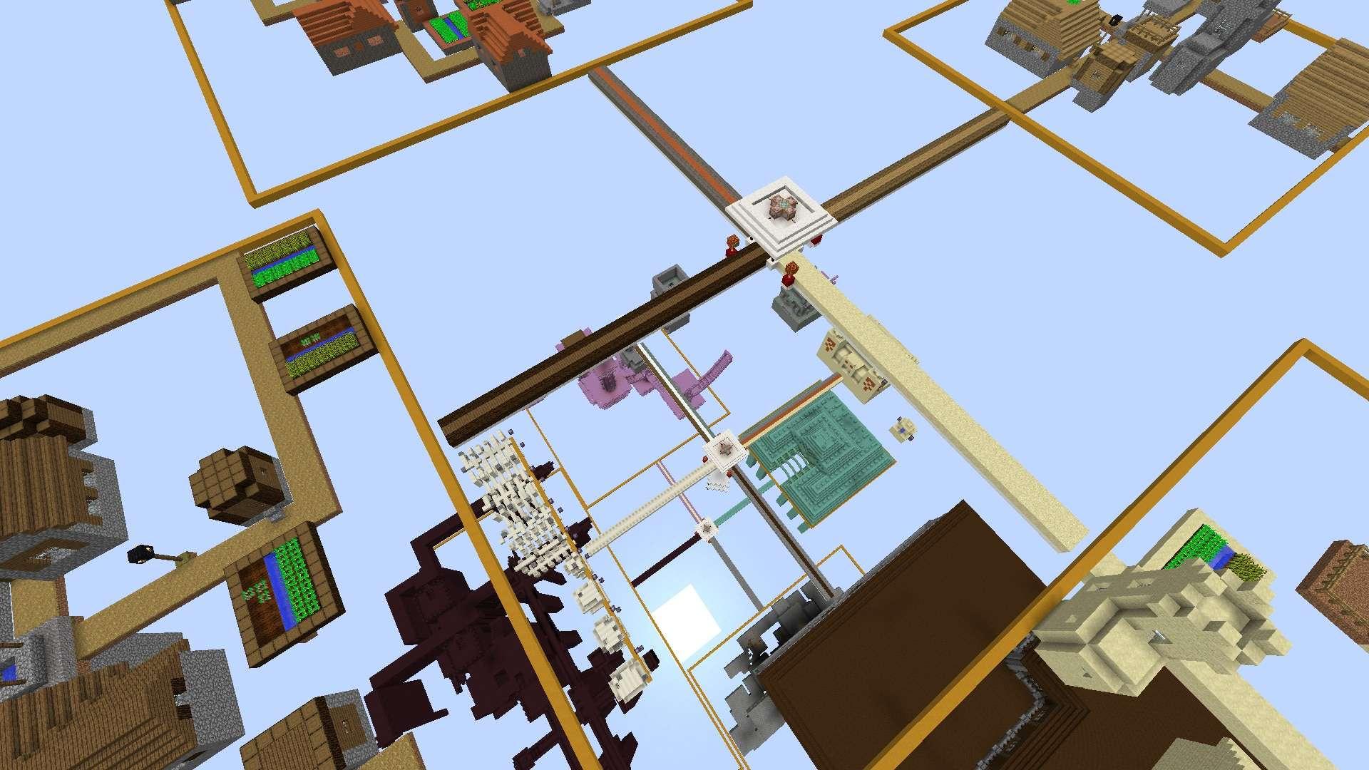 les constructions naturelles dans la Test Map