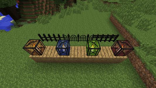 Lanternes et barrières