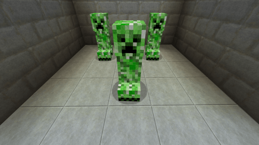 Creepers - Enhanced Photo Realism Pack