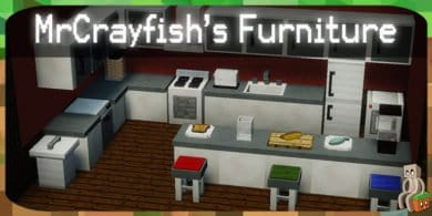 Photo of [Mod] MrCrayfish's Furniture Mod [1.7.10 – 1.16.1]