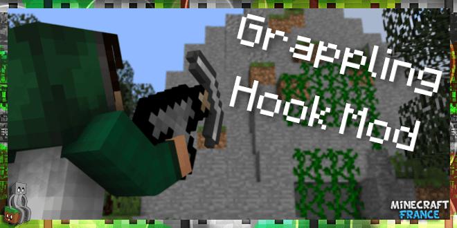 Mod] Grappling Hook [1 8 1 7 10] - Minecraft-France