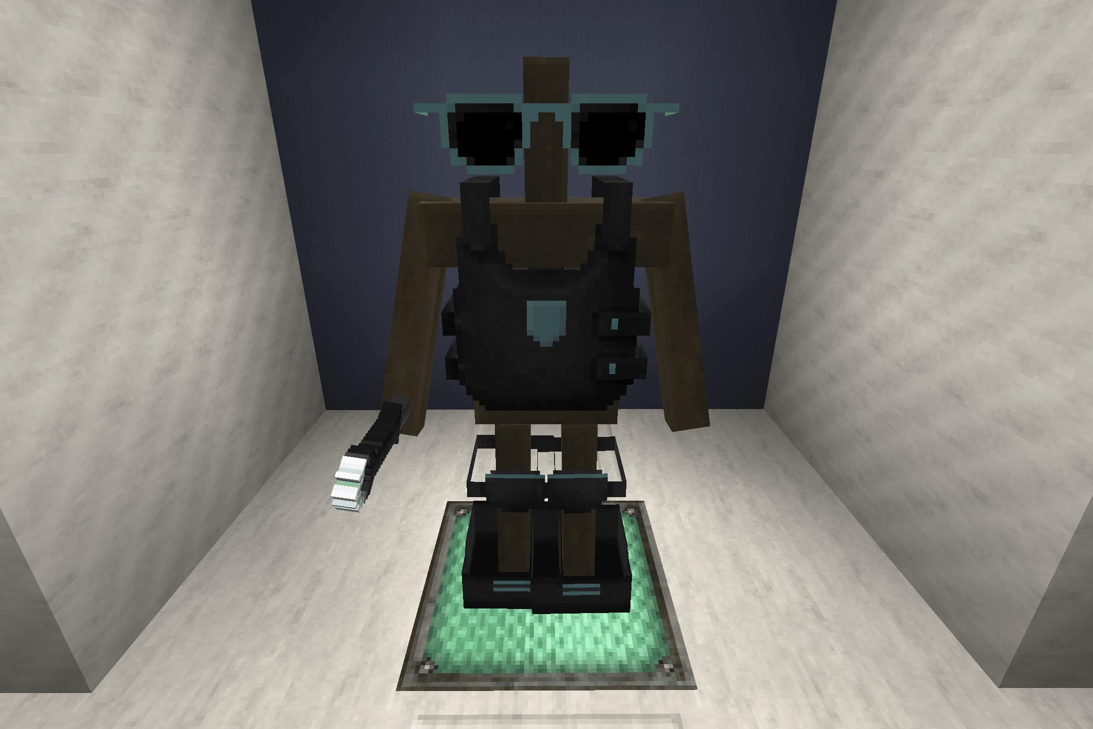 L'armure en diamant avec Bladecraft Cyberpunk