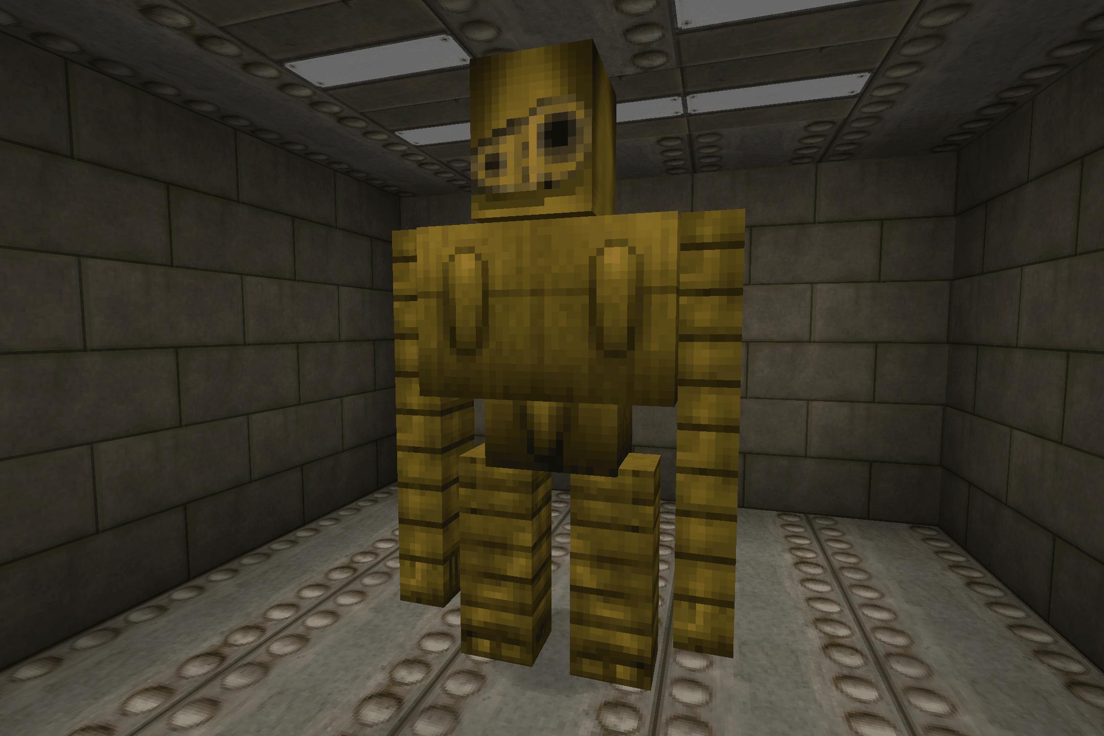 Robot du chateau dans le ciel avec Bladecraft Cyberpunk