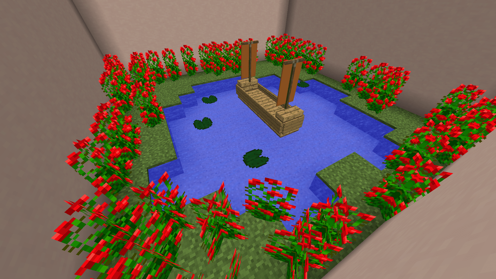 jardin de The Lost Button