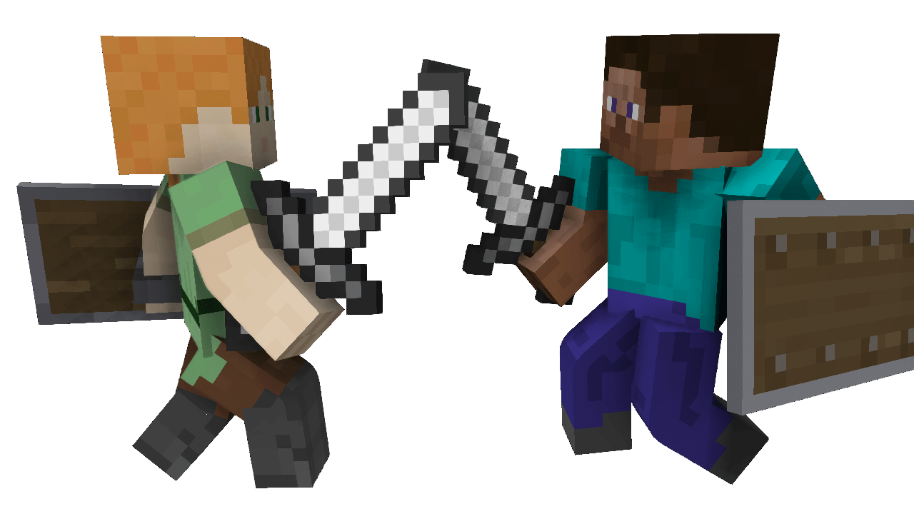 Pvp minecraft png image