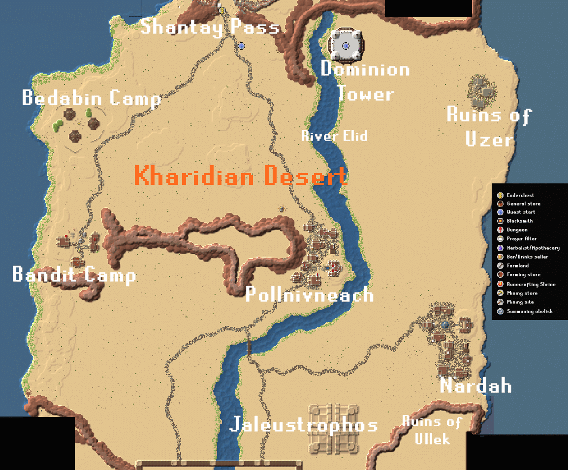 Gielinor - Map Kharidian
