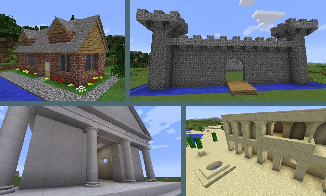 construction avec ArchitectureCraft