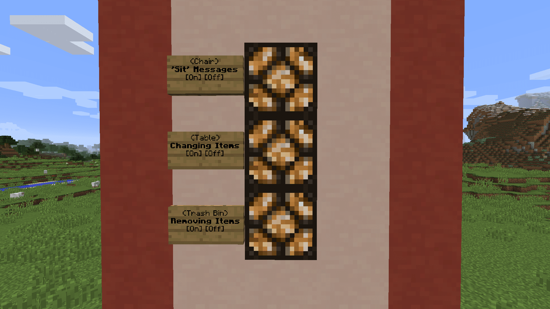 configuration de Furniture